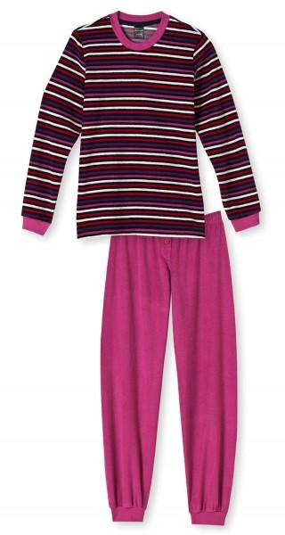 Kinder Schlafanzug lang Frottee Schiesser 139862