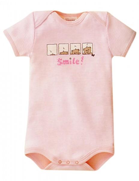 Baby Mädchen Body Halbarm 1/2 Smile Bär Schiesser 002202
