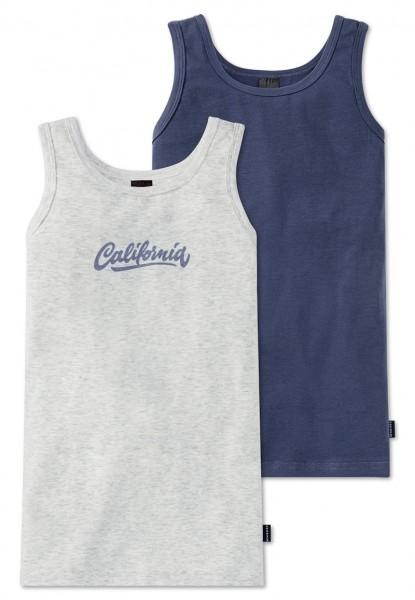 """Jungen Hemden Doppelpack """"California"""" Schiesser 156785"""