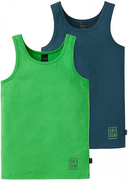 Schiesser Jungen 2pack Tanks Unterhemd 151991-901