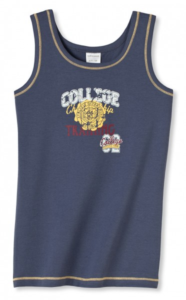 Jungen Unterhemd Hemd ohne Arm 0/0 College Team 62 Schiesser 132456