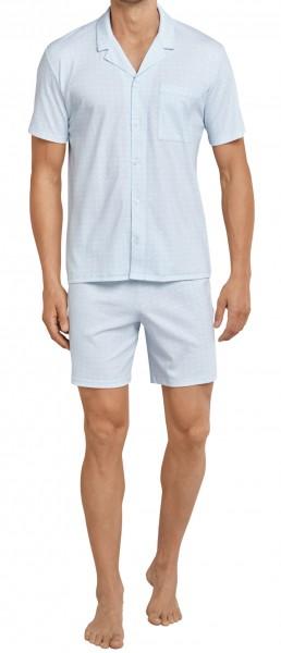 Schiesser Herren Pyjama Kurz 161578-805