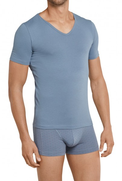 Shirt 1/2 Arm 95/5 Cotton-Stretch Schiesser 161150-209