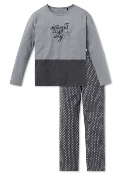 Schiesser Mädchen Anzug lang 163207-209