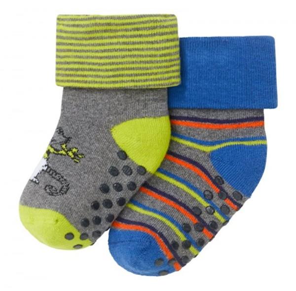 Jungen Baby Socken 2er-Pack Antirutsch Schiesser 149064