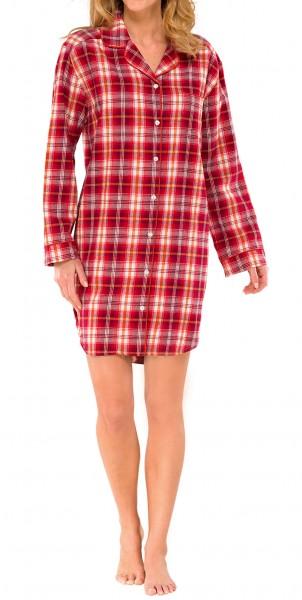 Damen Sleepshirt Flanell Schiesser 139823