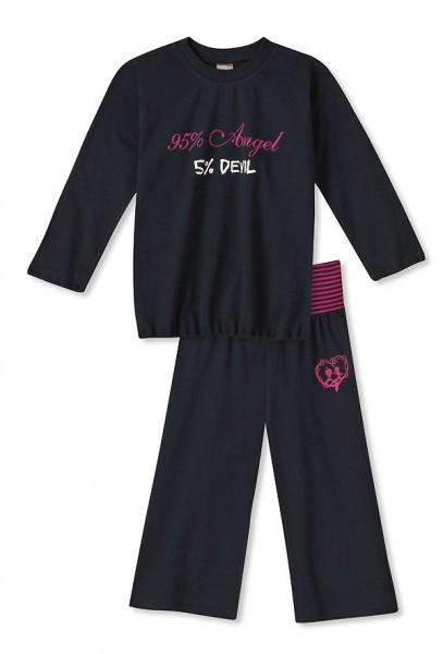 Mädchen Schlafanzug lang Angel & Devil Schiesser 117948