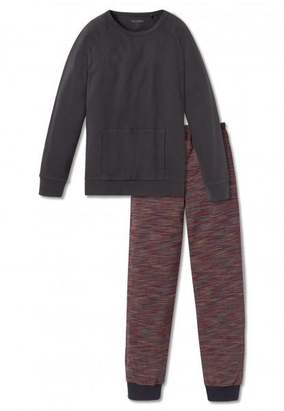 Schiesser Jungen Zweiteiliger Schlafanzug Anzug lang 163244-203