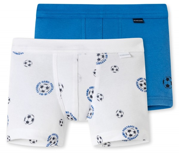 """Jungen Shorts """"Organic Cotton"""" im Doppelpack bis Grösse 140"""