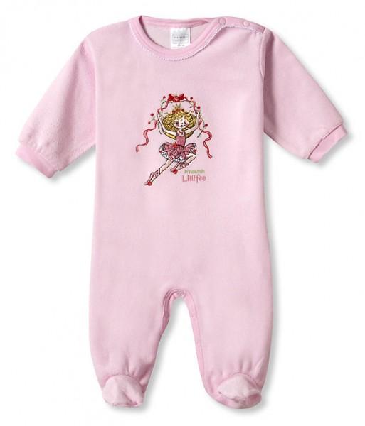 Baby Mädchen Strampler Anzug mit Fuss Langarm Frottee Lillifee Schiesser 112547