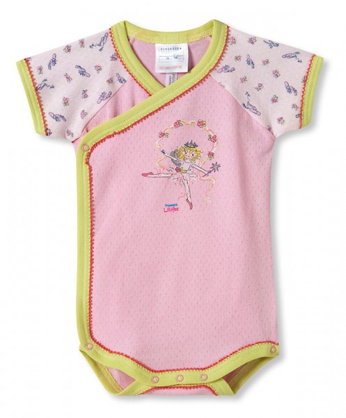 "Girls Wrapover Body with short sleeves ""Lillifee"" Schiesser 002181"