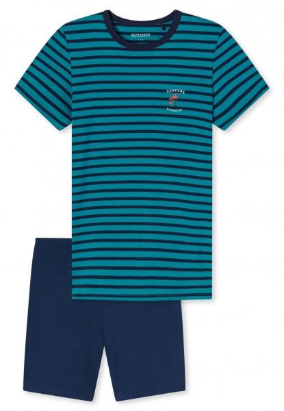 Schlafanzug kurz Organic Cotton 173370-702