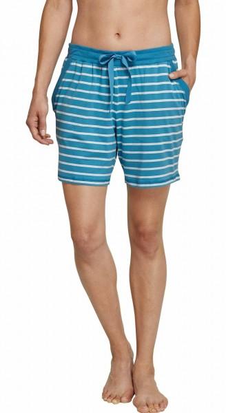 Schiesser Damen Schlafanzughose Mix & Relax Jerseyhose Kurz 156353-899