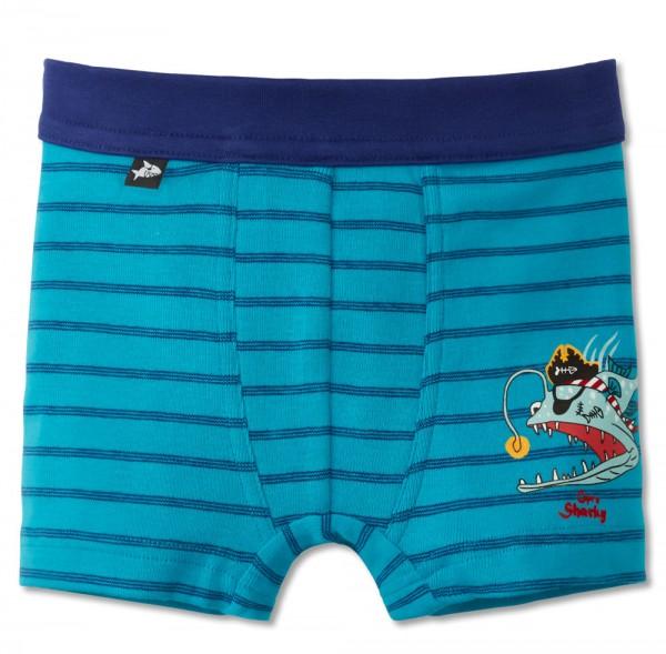 Schiesser Jungen Boxershorts Hip Shorts Capt´n Sharky 160490-807