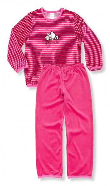 Mädchen Samt Schlafanzug lang Jolly Winter Schiesser 129895