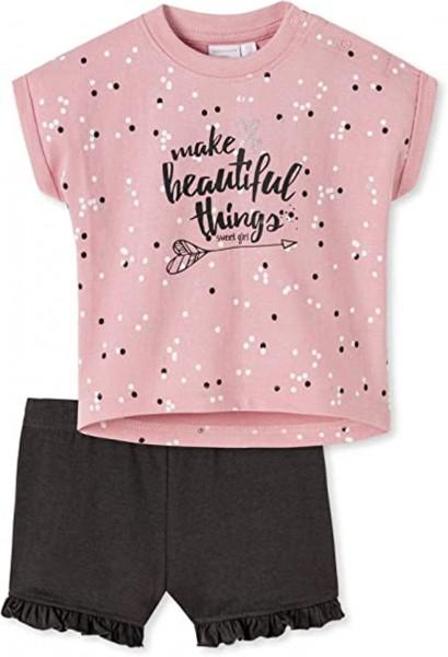 Baby Mädchen Set T-Shirt+ Shorts Schiesser
