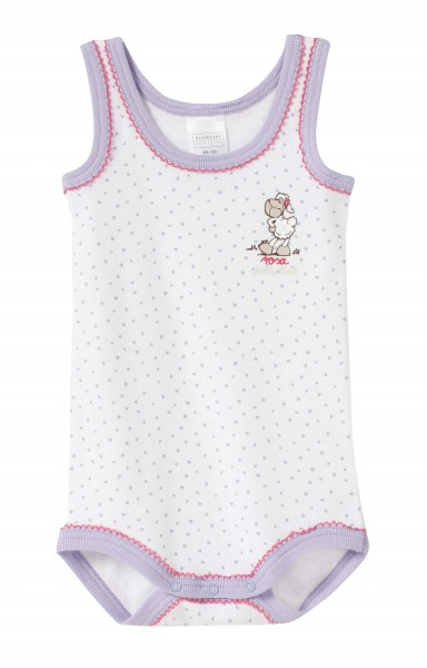 Baby Body ohne Arm Schaf Jolly Rosa Schiesser 127492