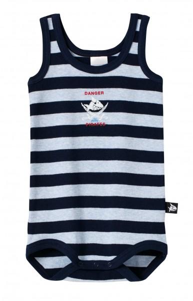 Baby Jungen Body ohne Arm Capt`n Sharky Haifisch Schiesser 127499