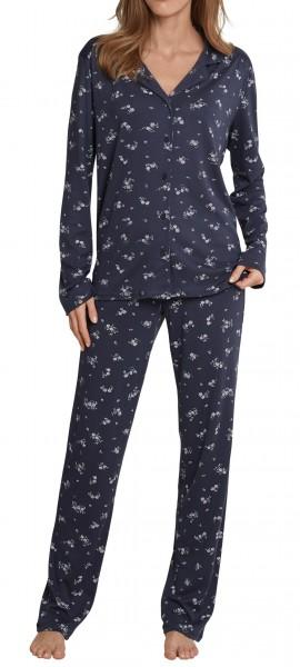 9d70c5de64a0e7 Schiesser Damen Zweiteiliger Schlafanzug Pyjama Lang | Schiesser Shop