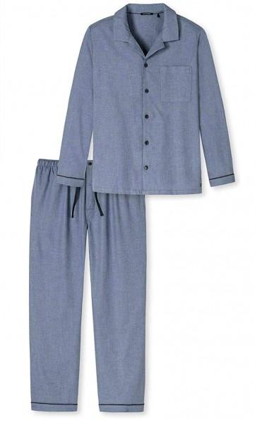 Schiesser Herren Pyjama lang 159193-825