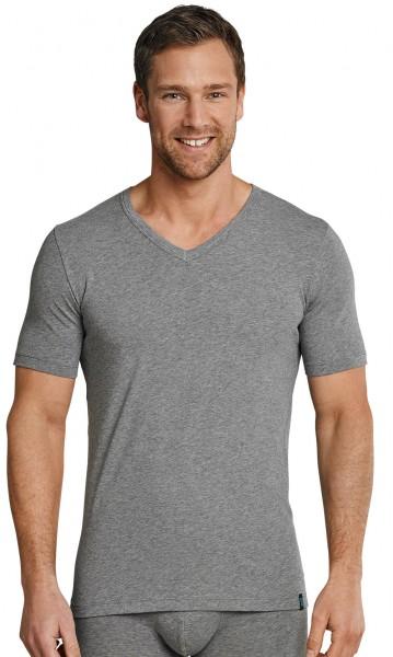 Herren Unterhemd Shirt 1/2 Arm V-Ausschnitt, 95/5 Cotton-Stretch Schiesser 205429