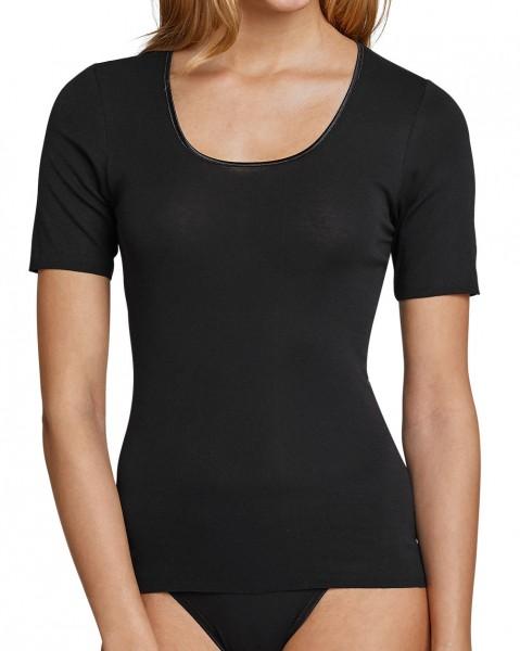 Damen Unterhemd halber Arm Luxury Schiesser 200764