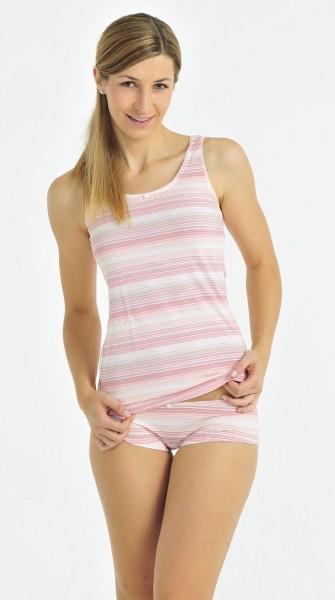 Damen Unterhemd Top Soft line Schiesser 122514