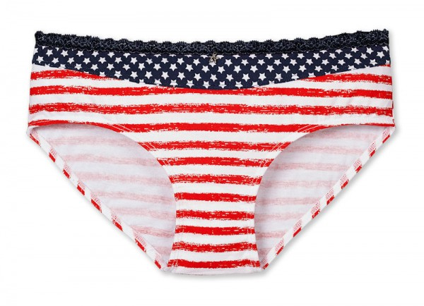 "Mädchen Panty ""Stars and Stripes"" Schiesser 143236"