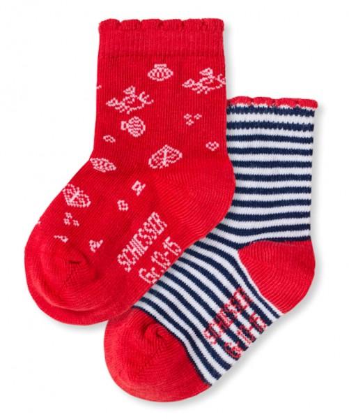 Mädchen Baby Socken 2er-Pack Schiesser 146506