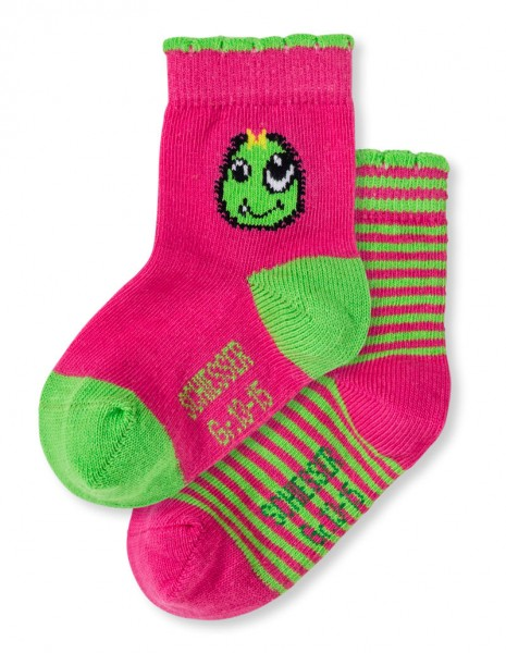 Mädchen Baby Socken 2er-Pack Schiesser 146508