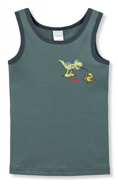 Jungen Unterhemd ohne Arm Dino Schiesser 129827