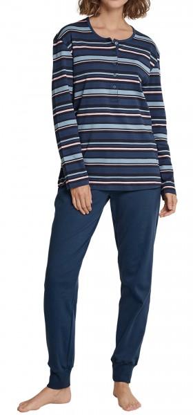 Schiesser Damen Schlafanzug Interlock 163088-808
