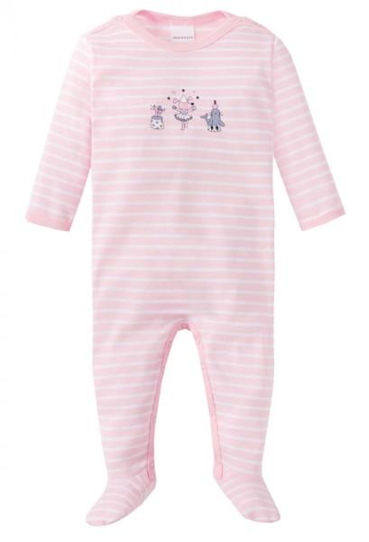 Schiesser Baby-Mädchen Einteiliger Schlafanzug Anzug mit Fuß 159082-506