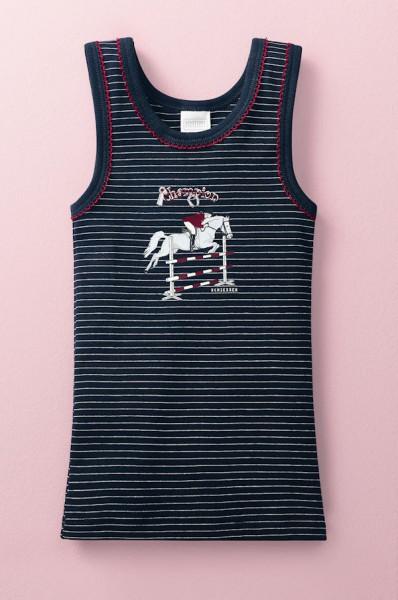 Mädchen Unterhemd`Pferd` Schiesser 117753