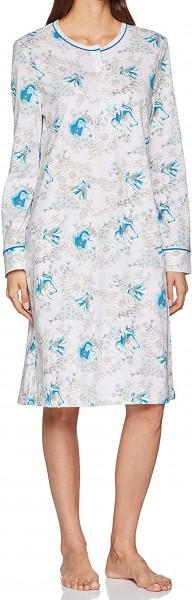 Schiesser Damen Nachthemd 1/1 Arm 150152-100