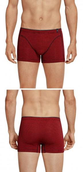 Shorts 95/5 Cotton-Stretch rot Schiesser 157183