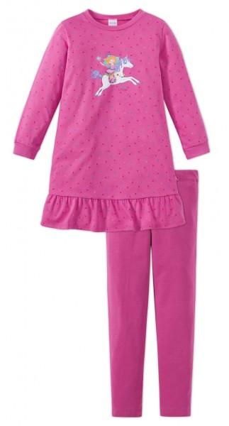 Schiesser Mädchen Nachthemd Prinzessin Lillifee Nachthemd 1/1 mit Leggings