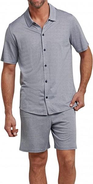 Schiesser Herren Pyjama kurz 166148-824