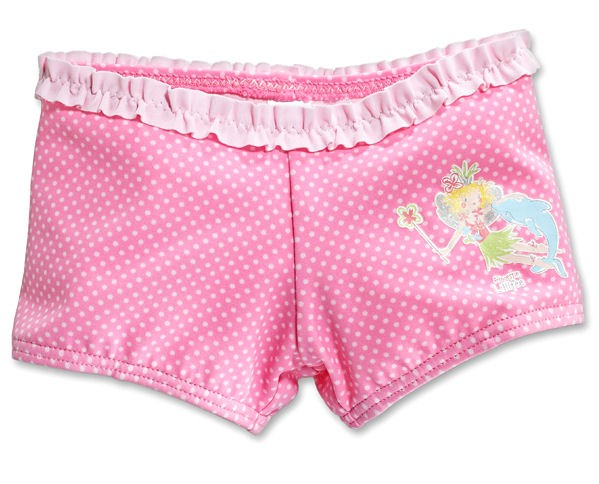 Mädchen Bade Hose Bade-Pants Lillifee mit Delfin Schiesser 114174