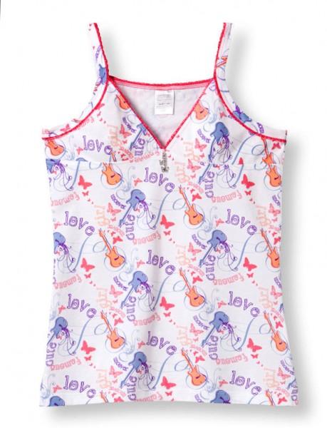 Mädchen Unterhemd ohne Arm 0/0 Top Uncover Schiesser 123005
