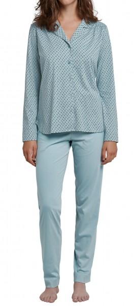 Damen Pyjama lang Schiesser 165644-713