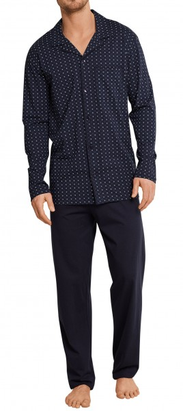 Schiesser Herren Pyjama Lang 163659-811