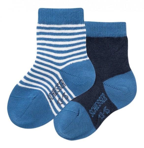 Jungen Baby Socken 2er-Pack Schiesser 142355