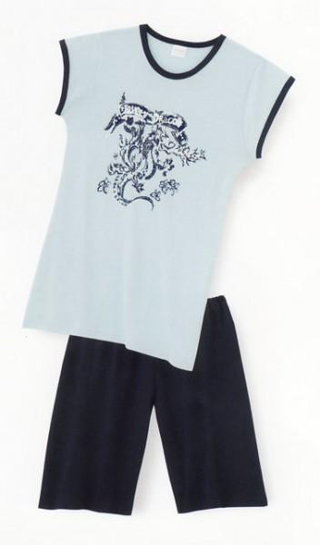 Mädchen Schlafanzug kurz Lovely Dragon Schiesser 108224