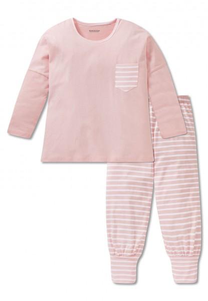 Schiesser Mädchen Zweiteiliger Schlafanzug Anzug 3/4 166067-503
