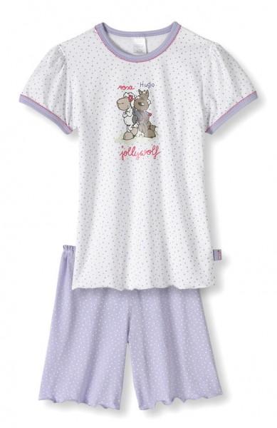 Mädchen Schlafanzug kurz Jolly Mäh & Hugo Schiesser 127498