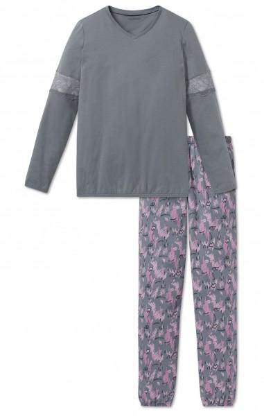 Schiesser Mädchen Anzug lang 163210-209