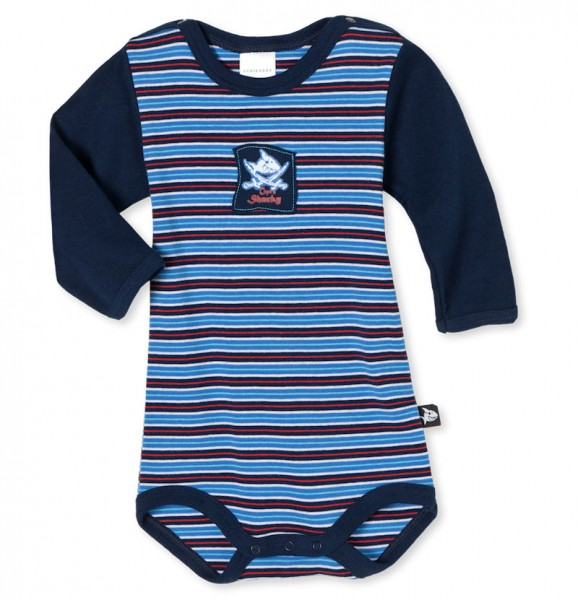 "Baby Body 1/1 Arm ""Captn Sharky"" Schiesser 135525"