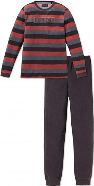Schiesser Jungen Zweiteiliger Schlafanzug Anzug Lang 163271-004