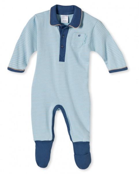 Baby Strampler Anzug mit Fuß Tausendsassa Schiesser 136174